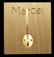 Personalized Wooden Name Hooks